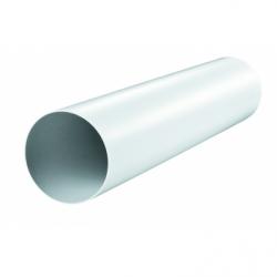 Tub PVC, diam 100mm, L 500mm - Accesorii ventilatie tubulatura pvc si conectori