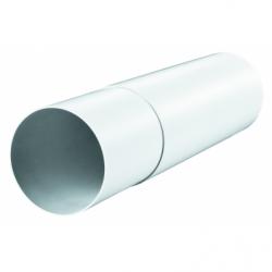 Tub telescopic PVC, diam 125mm, L 350-500mm - Accesorii ventilatie tubulatura pvc si conectori