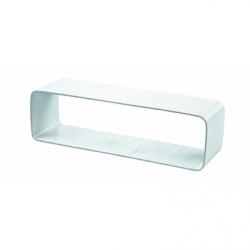 Racord conectare flexibil PVC 110*55mm - Accesorii ventilatie tubulatura pvc si conectori