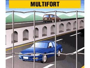 Multifort - plasa sudata zincata de la Frigerio - Plase zincate pentru garduri metalice