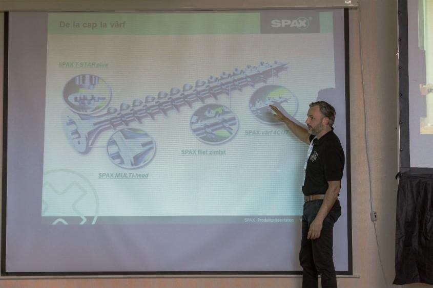 Training Euro Narcis despre calitatea suruburilor Spax - Training Euro Narcis despre calitatea suruburilor Spax