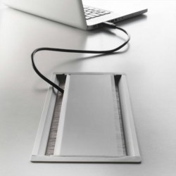Placuta de acces fixa - Exit in plastic - Managementul cablurilor