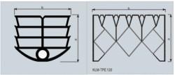 Profile de compresie pentru panouri prefabricate - Profile de compresie pentru panouri prefabricate