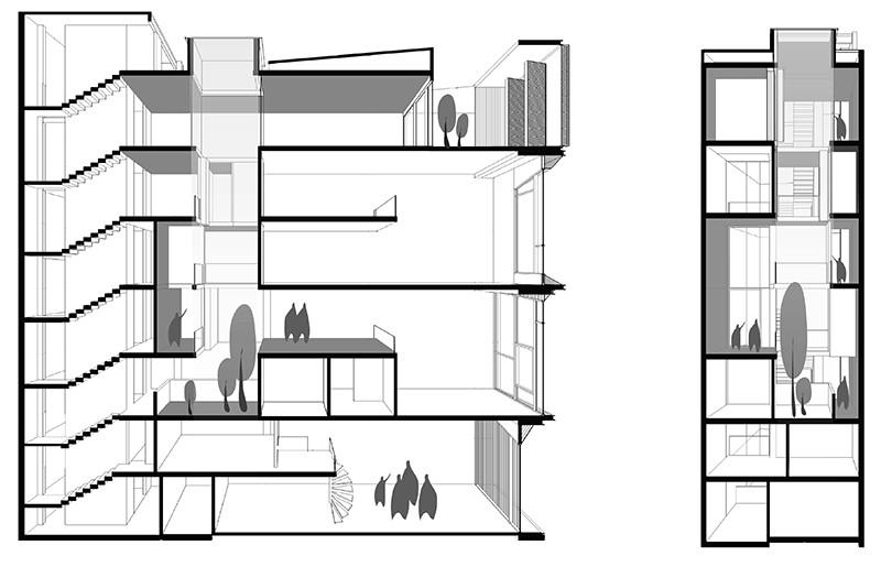Dintr-o ruina apare o casa moderna cu interioare spectaculoase - Dintr-o ruina apare o casa moderna