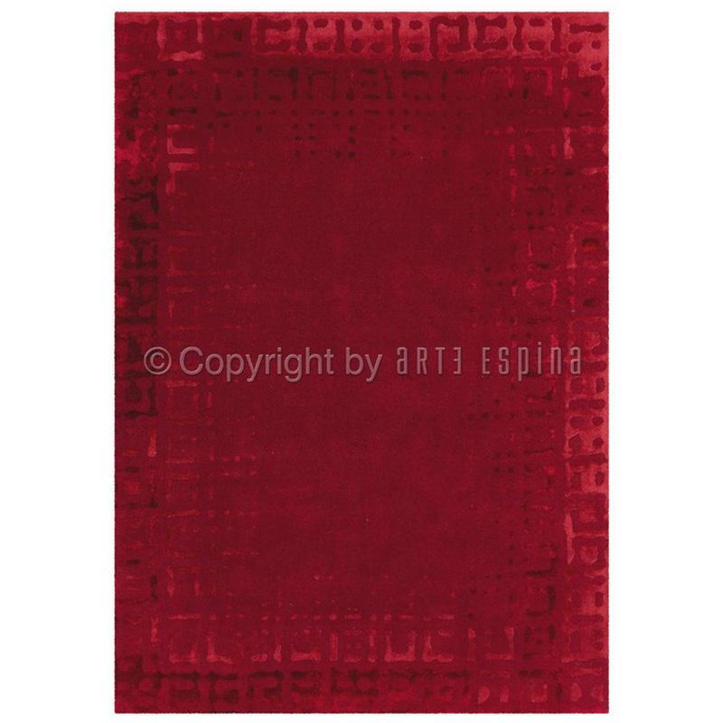 Covor Modern Acril-Vascoza Arte Espina Colectia Dynamic 5051-41 - Covoare minunate in rosu si verde -