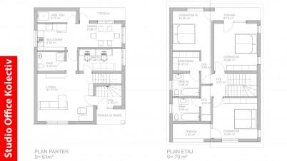 Plan casa - Proiecte realizate de STUDIO OFFICE KOLECTIV