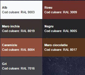 Gama culori Novatik QUADRA - Culori Quadra