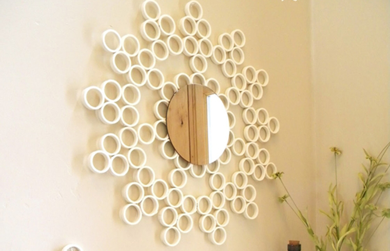 Decoratiuni de perete - Intrebuintari inedite pentru tevile din PVC