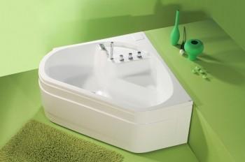 Cada de baie cu laturi inegale Ingrid  - Cazi de baie