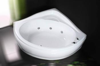 Cada de baie pe colt Alien  - Cazi de baie