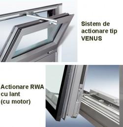 Sisteme de actionate - Mecanisme pentru ferestre - Sisteme de ventilare - GU