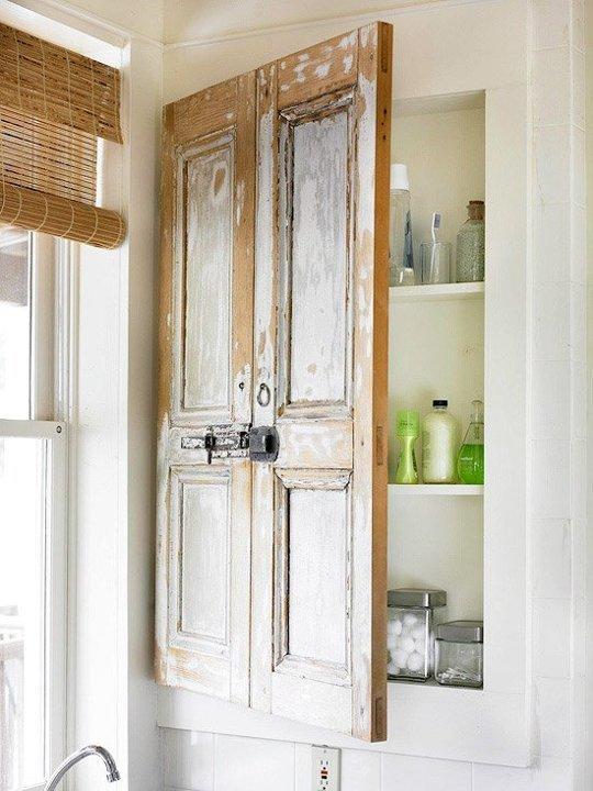 Piese de mobilier vintage ce completeaza designul unei incaperi de baie - Piese de mobilier vintage