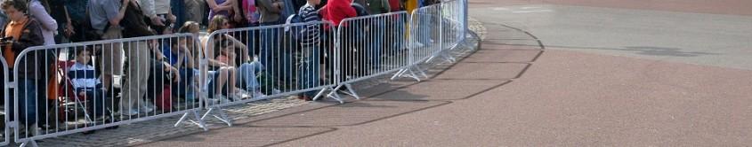 Panouri tip bariera - Delimitare de siguranta pentru concerte in aer liber, evenimente sportive
