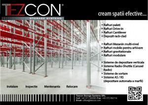 TEZCON STORAGE SYSTEM - TEZCON STORAGE SYSTEM