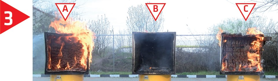 Sika Pyroplast sau cat de eficienta poate fi protectia la foc a elementelor din lemn - Protectia la foc a elementelor din lemn cu sistemele SIKA Pyroplast