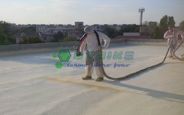 Termoizolatie terasa - Berceni - Termoizolatii cu spuma poliuretanica rigida