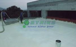 Termoizolatie terasa Centru de vizitare informare APNMM - Greci - Termoizolatii cu spuma poliuretanica rigida