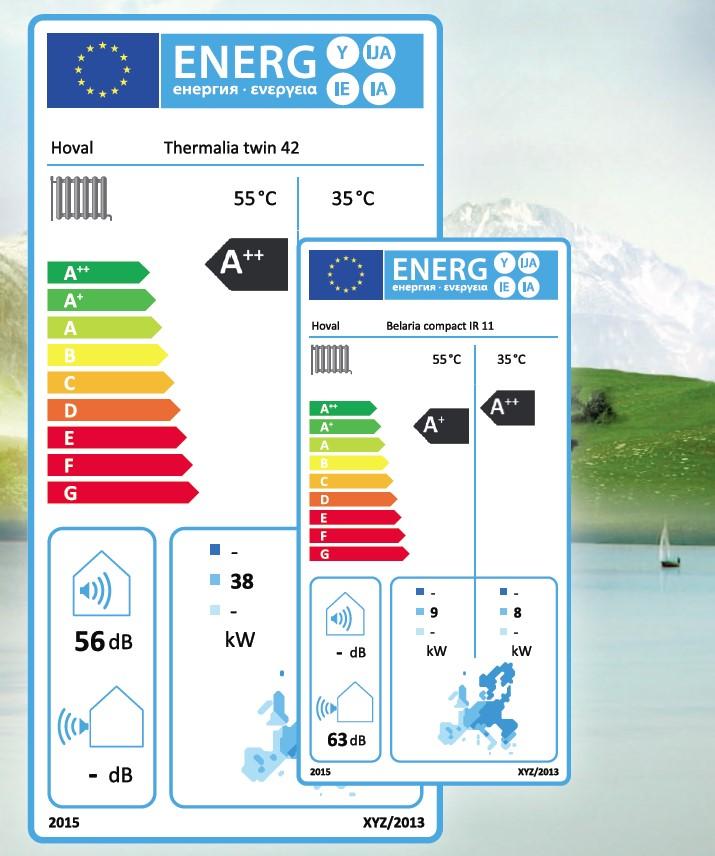 Etichetarea eficientei energetice in cazul sistemelor de incalzire obligatorie incepand cu septembrie 2015 - Etichetarea eficientei