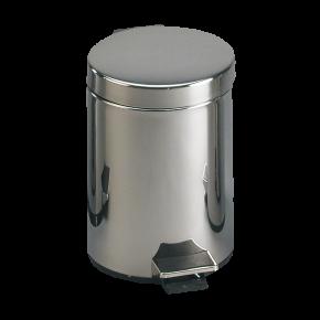 Cos de gunoi din otel inox - SLZN 15 - Cosuri de gunoi