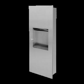 Dispenser de prosoape de hartie din otel inox cu cos de gunoi - SLZN 21Z - Cosuri de gunoi