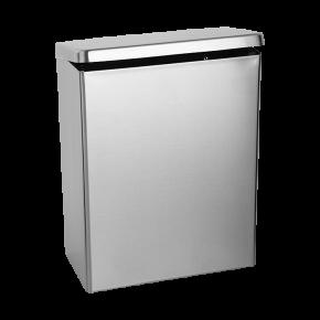 Cos de gunoi de perete din otel inox - SLZN 24 - Cosuri de gunoi