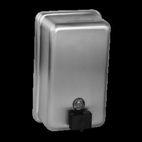 Dozator de sapun lichid din otel inox - SLZN 39 - Dozatoare de sapun si dezinfectant