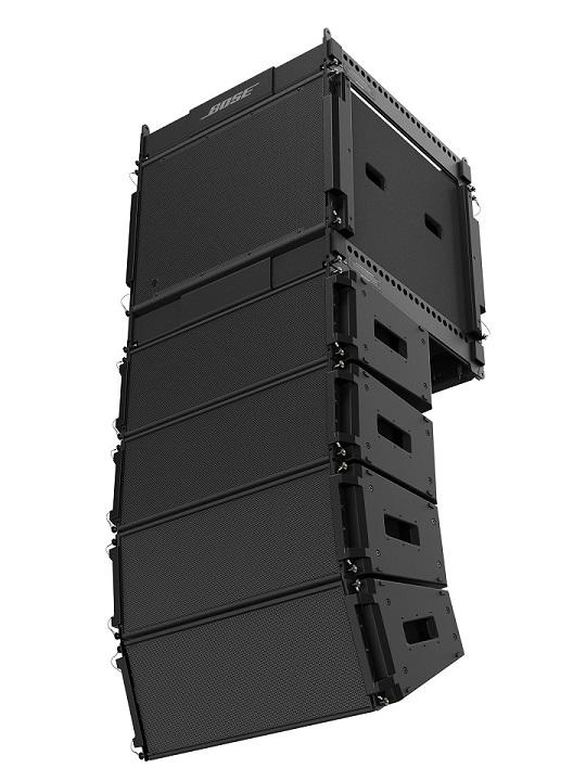 Boxele array ShowMatch™ DeltaQ™ - Divizia Bose Pro prezinta primele imagini cu boxele-array ShowMatch™ DeltaQ™ la
