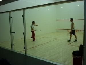 Terenuri de squash cu pereti dependenti - Terenuri squash
