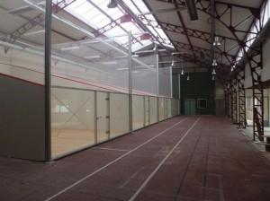 Teren Squash pereti independenti - Terenuri squash