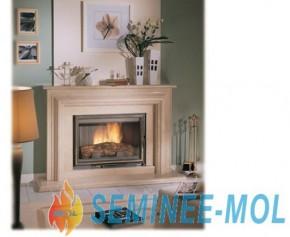 Semineu clasic de perete - Trevise - Seminee clasice