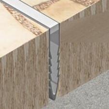 Profil pana de dilatatie din PVC - MSR350 - Profile de dilatatie din PVC