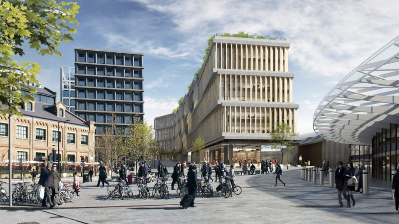 Facebook va avea un nou sediu imens în centrul Londrei - Facebook va avea un nou sediu imens în centrul Londrei