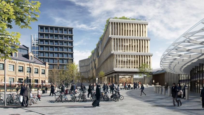 Facebook va avea un nou sediu imens în centrul Londrei - Facebook va avea un nou