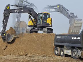 Excavator pe senile - Short Swing Radius - ECR145E  - Excavatoare pe senile - Short Swing Radius - Volvo