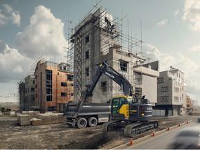 Excavator pe senile - Short Swing Radius - ECR235E  - Excavatoare pe senile - Short Swing Radius - Volvo