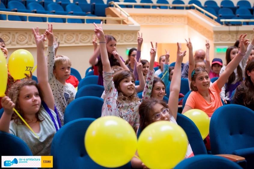 De-a Arhitectura Povestita - Conferintele de arhitectura preferate de peste 4000 de copii in ultimii patru