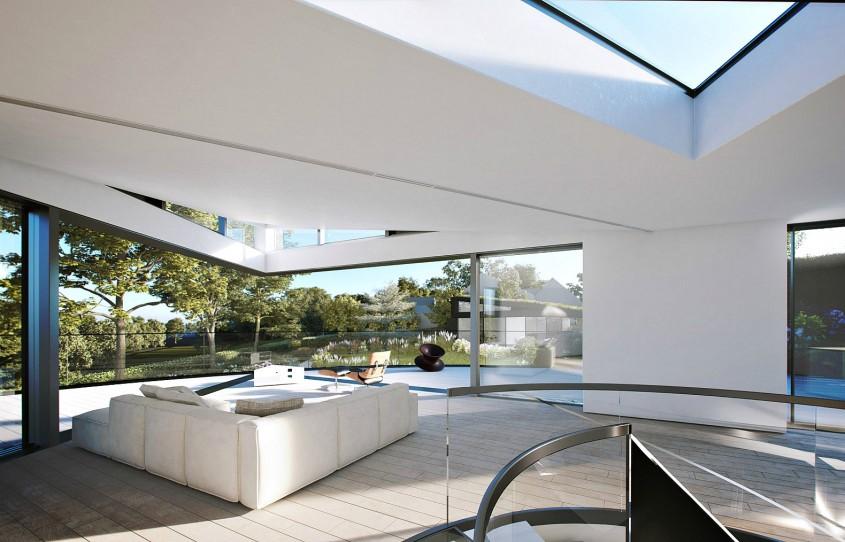 O casă uimitoare ce își schimbă priveliștea doar prin apăsarea unui buton - O casă uimitoare