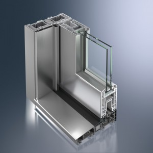 Profil din PVC pentru usi liftant - glisante Schüco Corona CT 70 HS - Profil din PVC pentru usi liftant - glisante Schüco Corona CT 70 HS