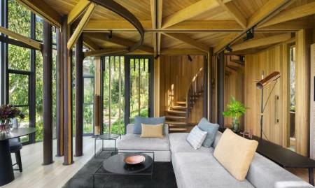 O casă în copaci cu interioare incredibil de luxoase - O casă în copaci cu interioare incredibil de luxoase
