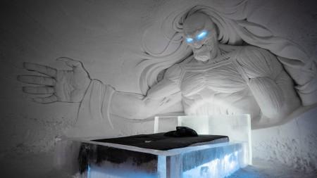 """Noul hotel de gheata """"Game of Thrones"""" - Bucurie pentru fani - imagini cu noul hotel de gheață """"Game of Thrones"""""""
