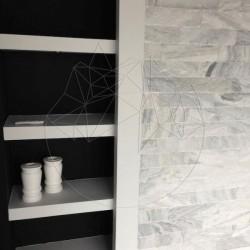 Marmura Kavala Scapitata 10 cm x LL x 2.5cm - Piatra naturala decorativa marmura kavala