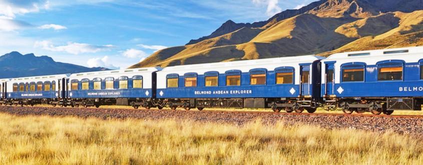 Trenul Belmond Andean Explorer - Primul tren cu vagoane de dormit de lux din America de