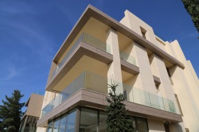 Placare HPL - Cladire rezidentiala  - PROIECTE AbetLaminati