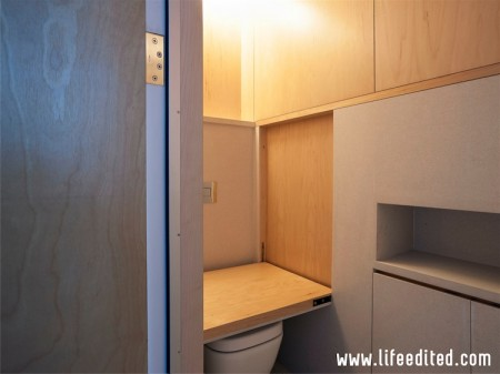 Apartamentul LifeEdited - Apartamentul LifeEdited sau cum doi arhitecti romani castigat provocarea de a amenaja eficient un spatiu de doar 39 mp