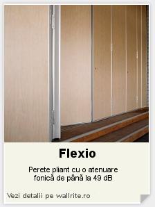 Perete mobil Flexio - Alegerea ta sunt peretii mobili