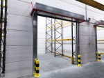 Cortina automata rezistenta la foc: deschisa - hala industriala - Copertine