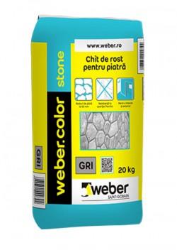 Chit flexibil pentru piatra - weber.color stone - Chituri pentru rosturi pe baza de ciment