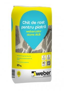 Chit de rost pentru piatra - webercolor stone - Chituri pentru rosturi pe baza de ciment
