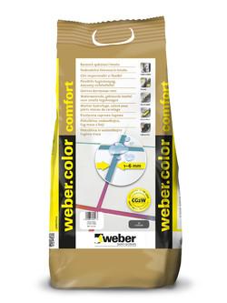 Chit impermeabil si flexibil pentru rosturi 1-6 mm - weber.color comfort - Chituri pentru rosturi pe baza de ciment