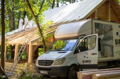 Termoizolatie cabana - lUcrare realizata de SIRO IZOLATII - Lucrari realizate de SIRO IZOLATII